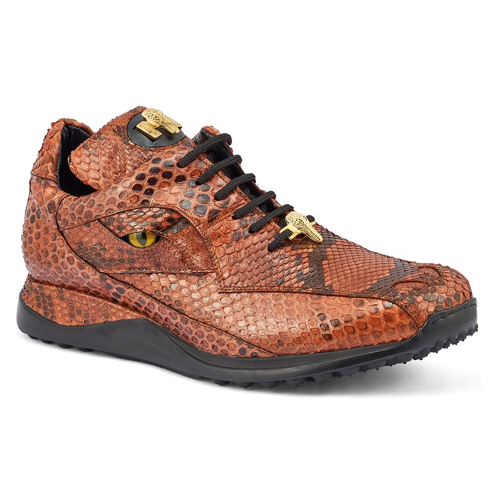 Mauri Snake Eyes 8596 Python Sneakers Black / Gold Image