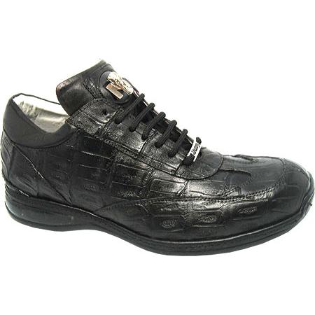 Mauri Swamp 8690 Crocodile Sneakers Black (Special Order) Image