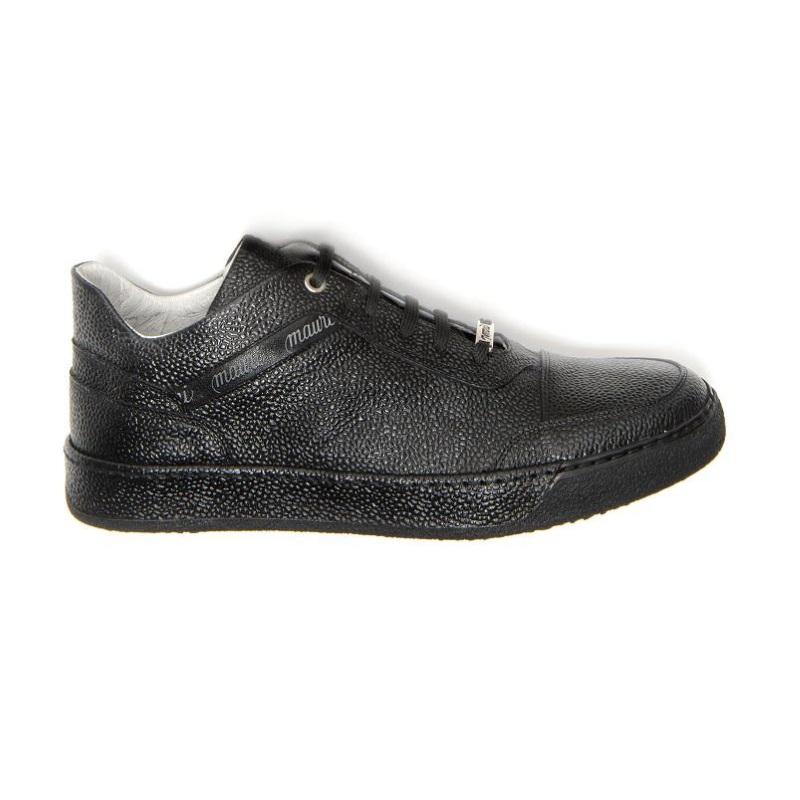 Mauri Vulcano M771 Pebble Grain Sneakers Black (Special Order) Image