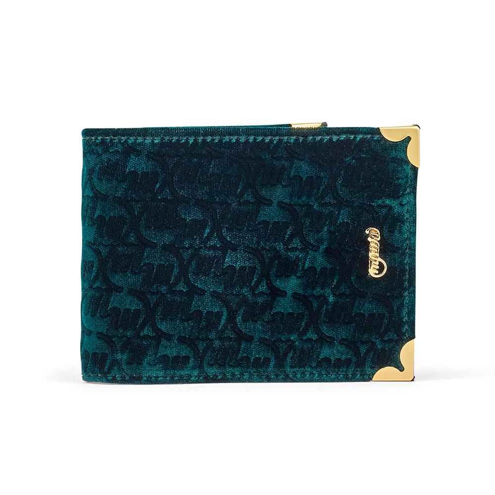 Mauri W2 Velvet Wallet Hunter Green Image