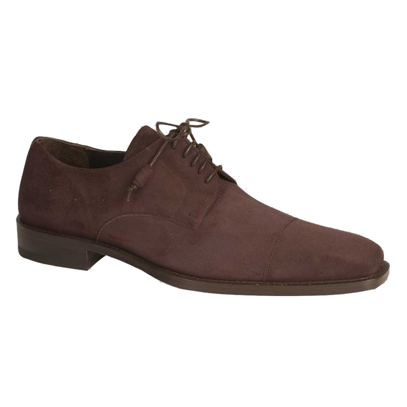 Mezlan SOKA II Suede Shoes Dark Brown Image