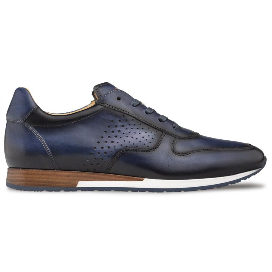 Mezlan A806 Patina Hybrid Sneaker Blue Image