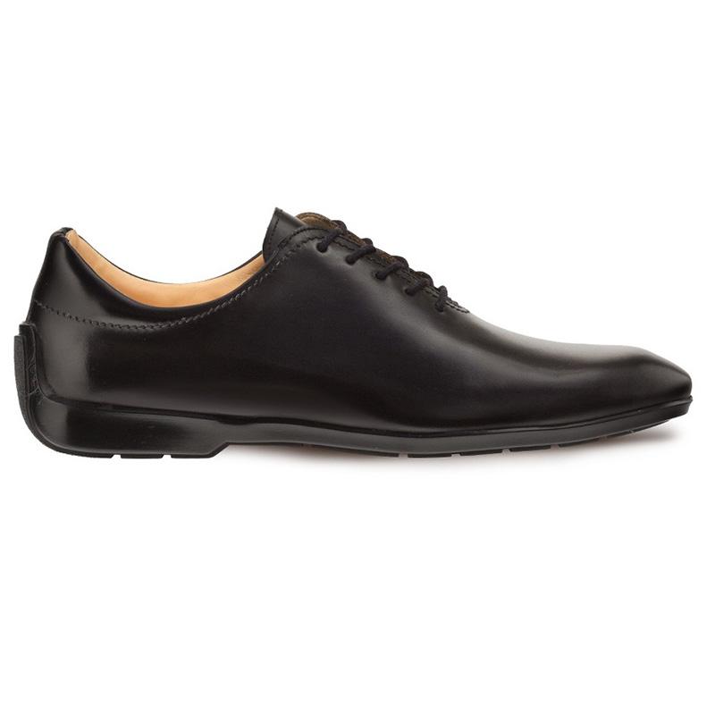 Mezlan Achilles Calfskin Lace-up Shoes Black Image