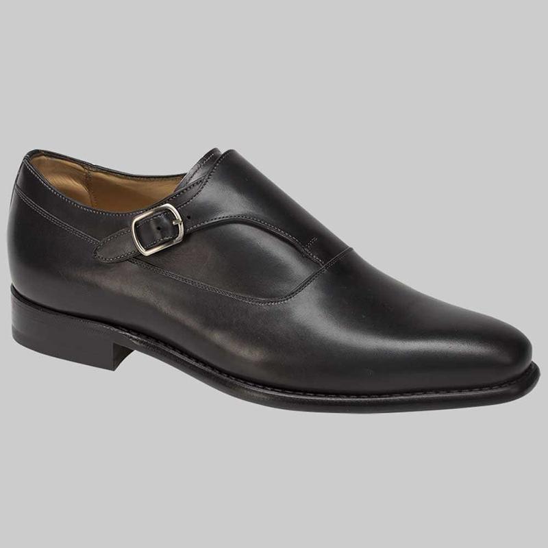 Mezlan Algar Calfskin Shoes Graphite Image