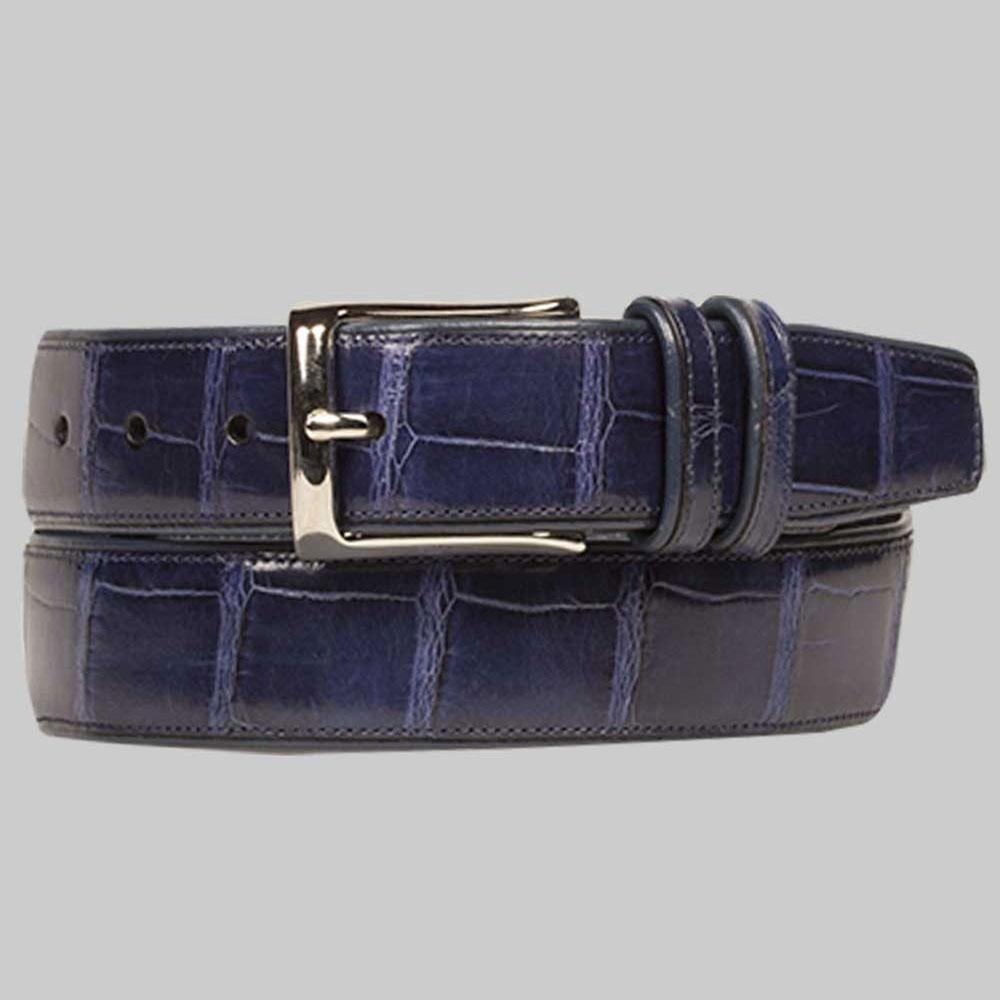 Mezlan AO7907 Alligator Belt Jeans Image