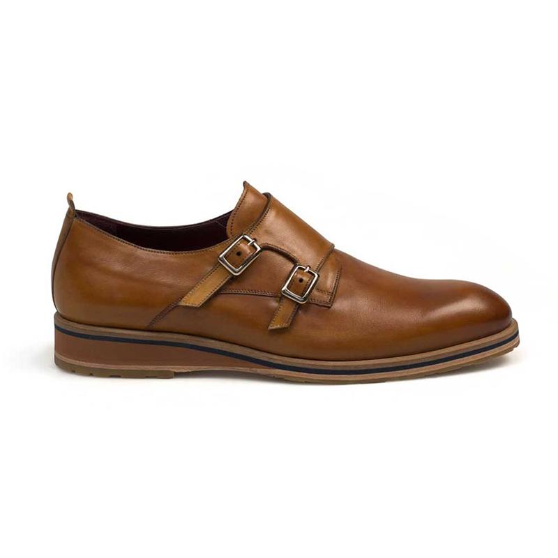 Mezlan Apolo Calfskin Shoes Honey Image