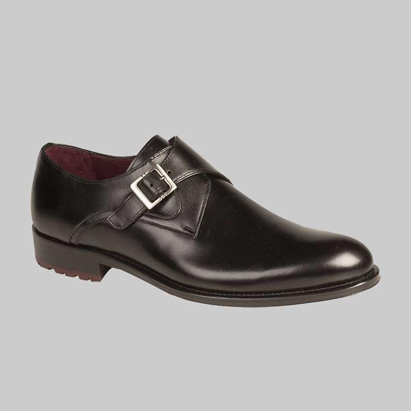 Mezlan Atri Calfskin Shoes Black Image