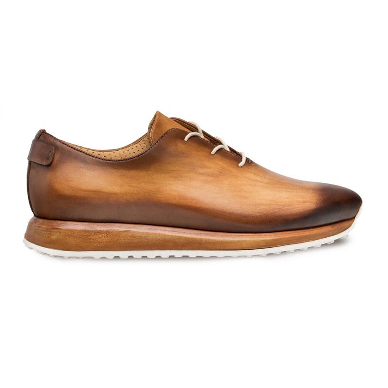 Mezlan Brahman Dress Sneakers Honey/Cognac Image
