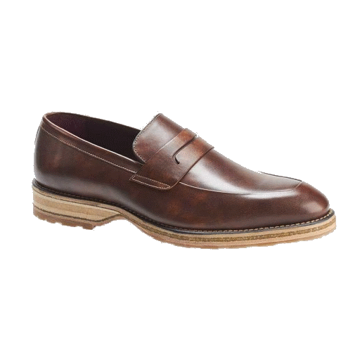 Mezlan Cantonia Penny Loafers Taupe Image