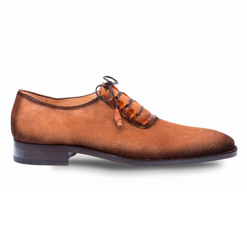 Mezlan Cassel Oxford Shoes Cognac Image