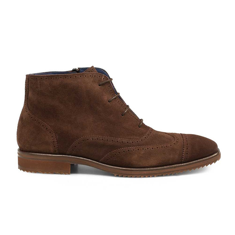Mezlan Cavill Suede Boots Brown Image