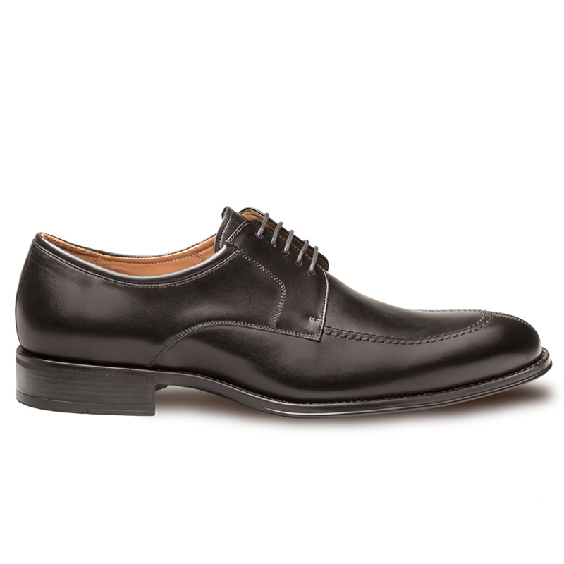 Mezlan Celso Calfskin Shoes Black Image