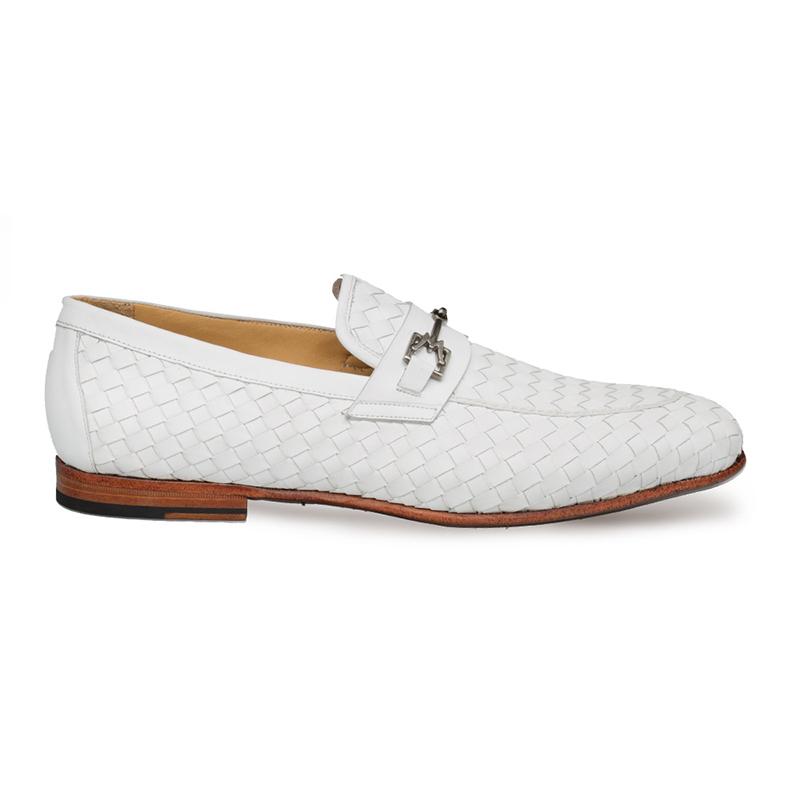 Mezlan Cerros Slip On Shoes White Image