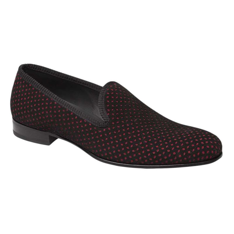 Mezlan Cibeles Loafers Black / Red Image