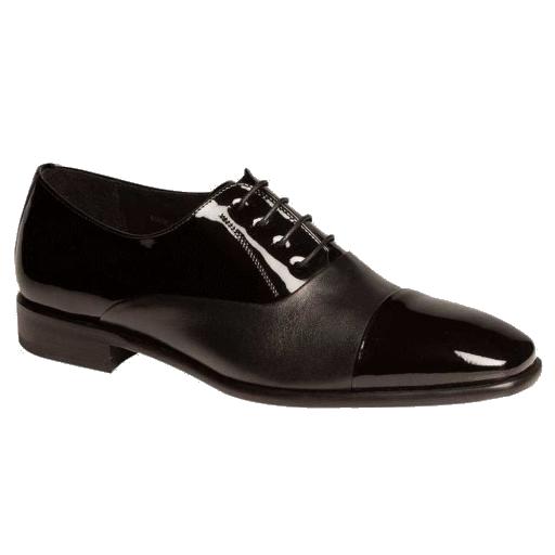 Mezlan Concerto Patent Leather Formal Shoes Black Image