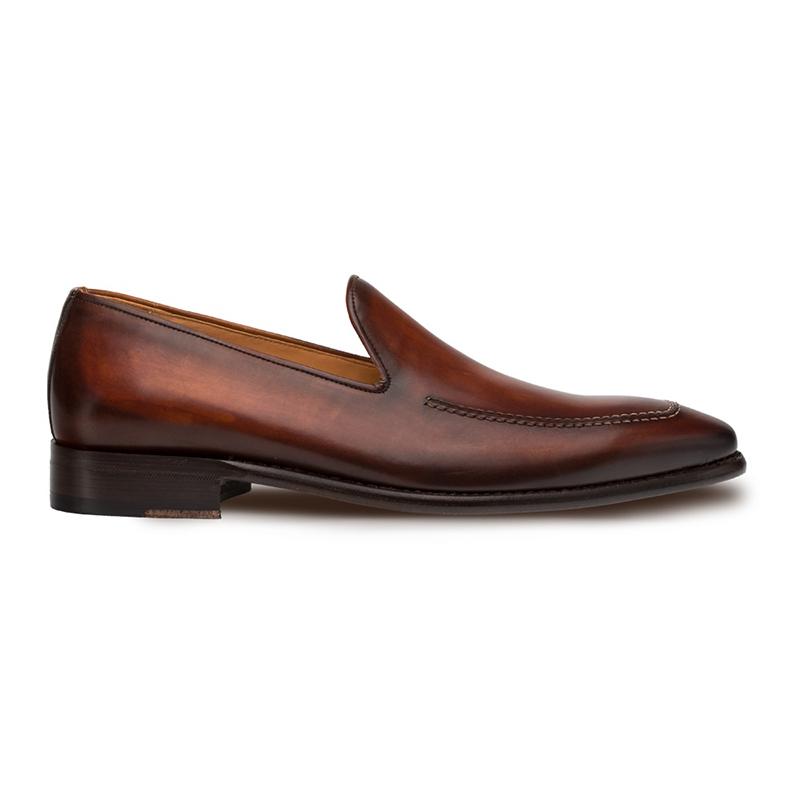 Mezlan Curtana Slip On Shoes Cognac Image