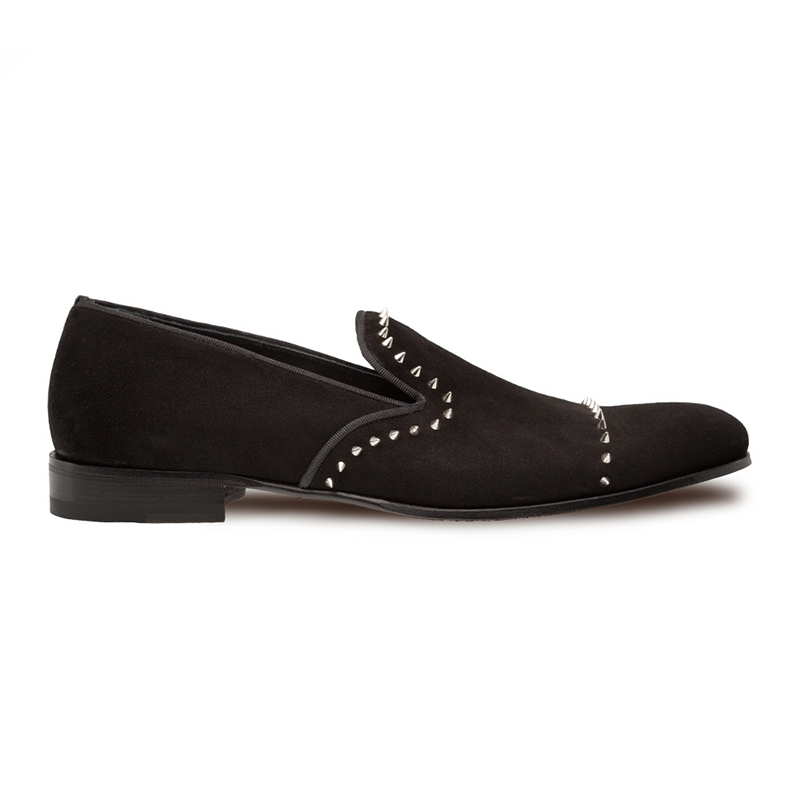 Mezlan Danee Suede Shoes Black Image