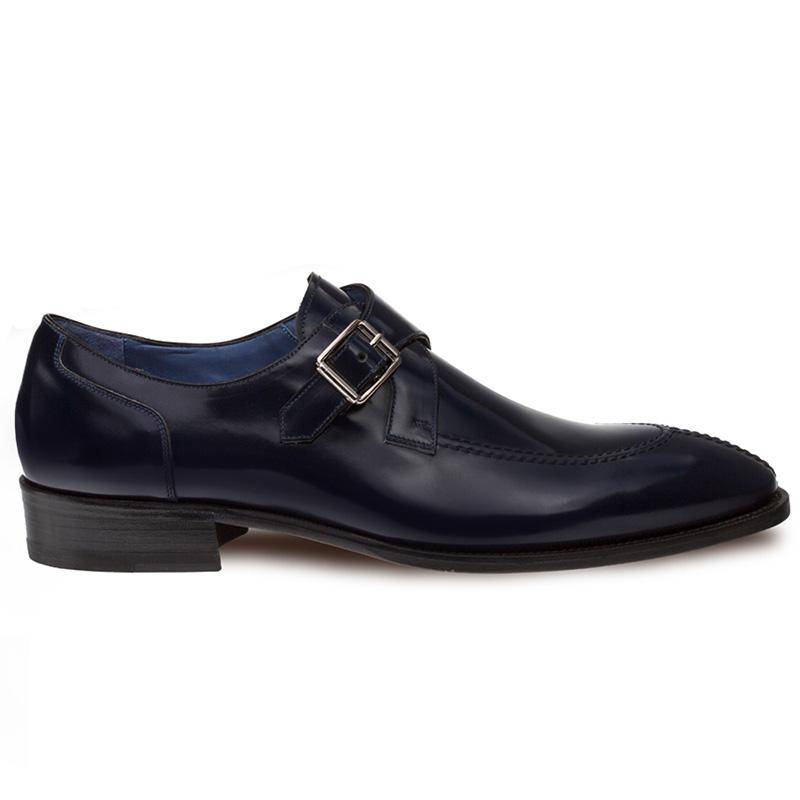 Mezlan Debussy Calfskin Shoes Blue Image