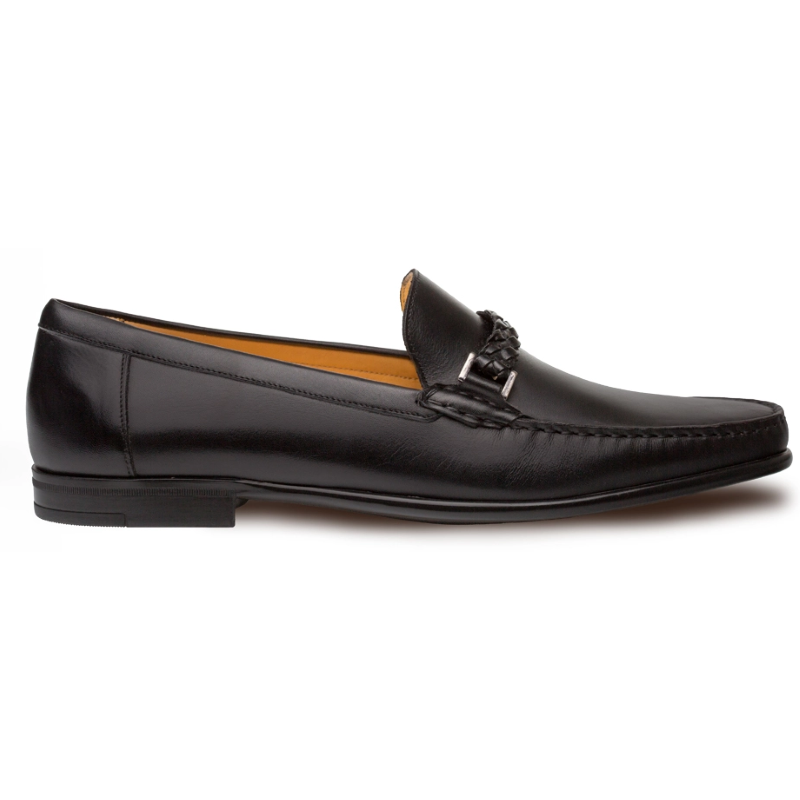 Mezlan Dorelli Calfskin Shoes Black Image