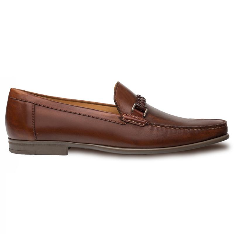 Mezlan Dorelli Calfskin Shoes Cognac Image