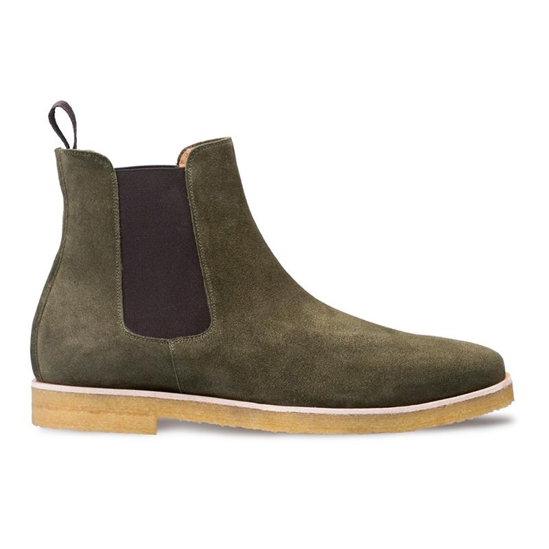 Mezlan Engel Plain Toe Boots Green Image