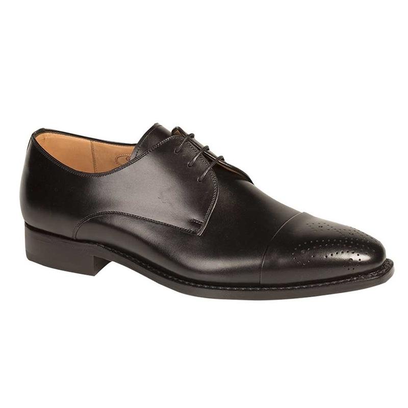 Mezlan G104 Calfskin Shoes Black Image