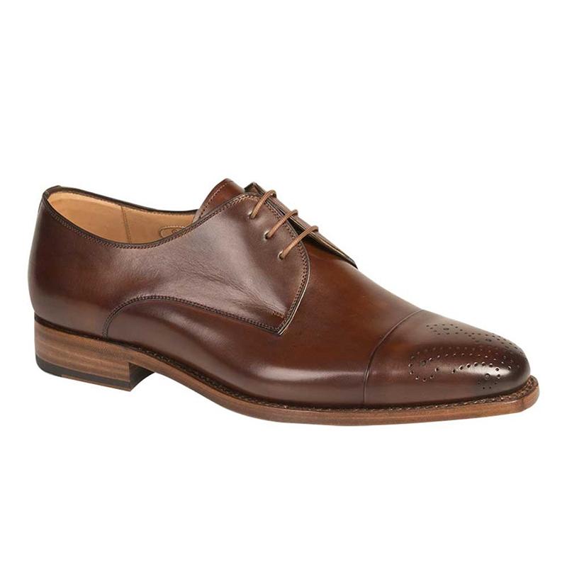 Mezlan G104 Calfskin Shoes Tan Image