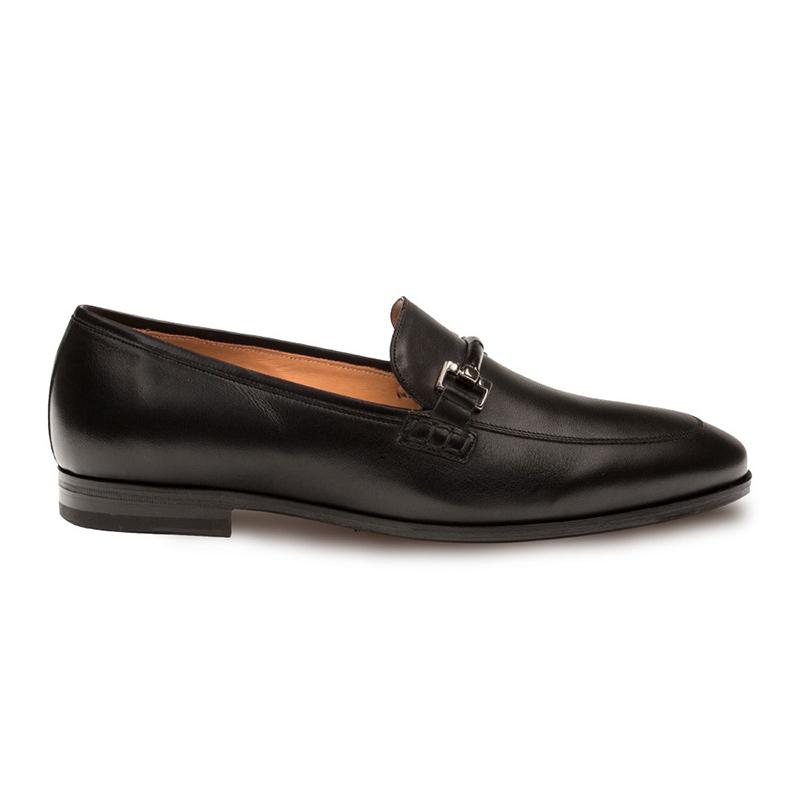 Mezlan Gabino Calfskin Shoes Black Image
