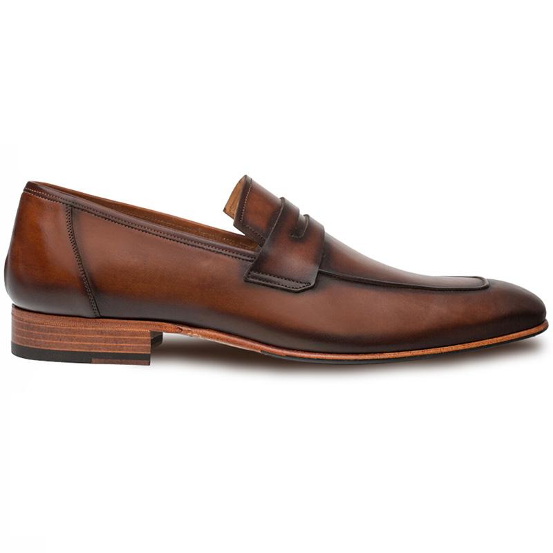 Mezlan Gerini Calfskin Loafers Cognac Image