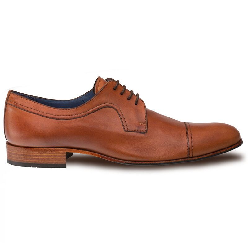 Mezlan Homar Derby Shoes Tan Image