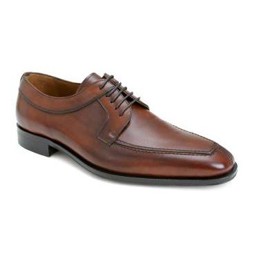 Mezlan Hundley Apron Toe Shoes Tan Image