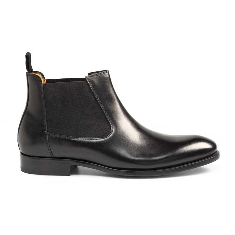 Mezlan Hurt Calfskin Boots Black Image