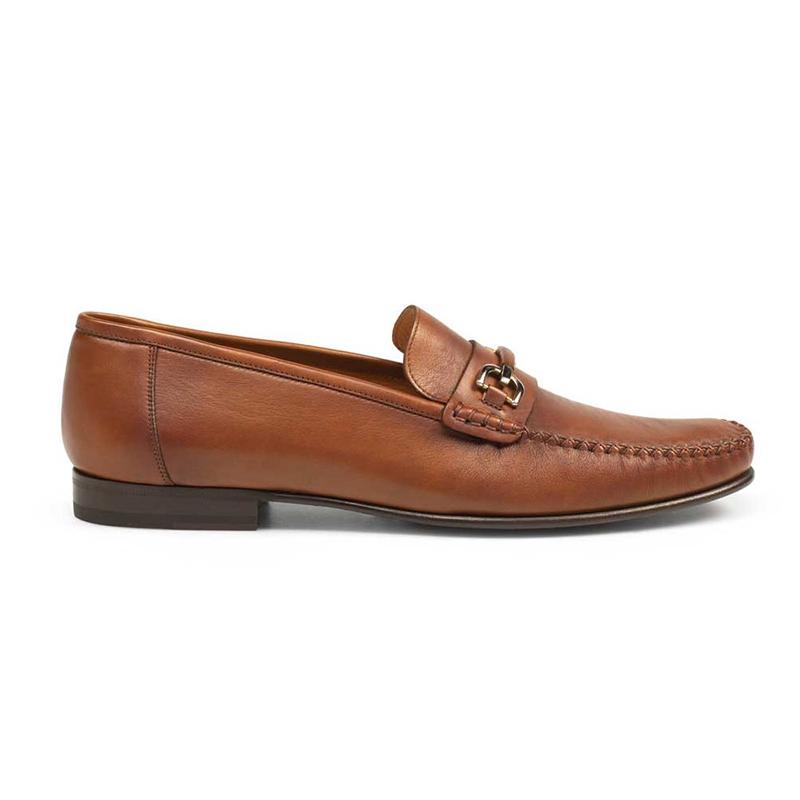 Mezlan Ian Calfskin Mocassin Shoes Cognac Image