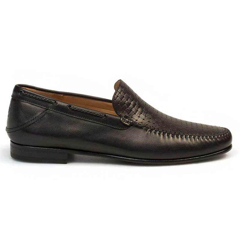 Mezlan Jano Calfskin Shoes Black Image
