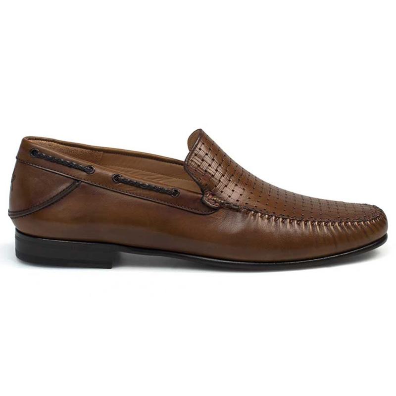 Mezlan Jano Calfskin Shoes Cognac Image