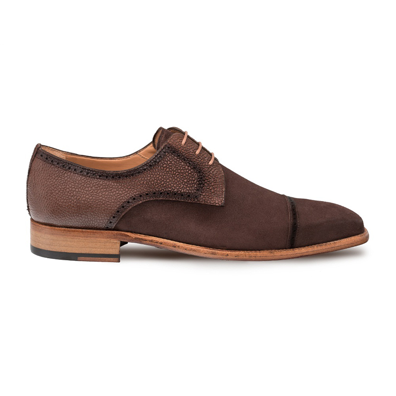 Mezlan Janus Cap Toe Shoes Brown Image