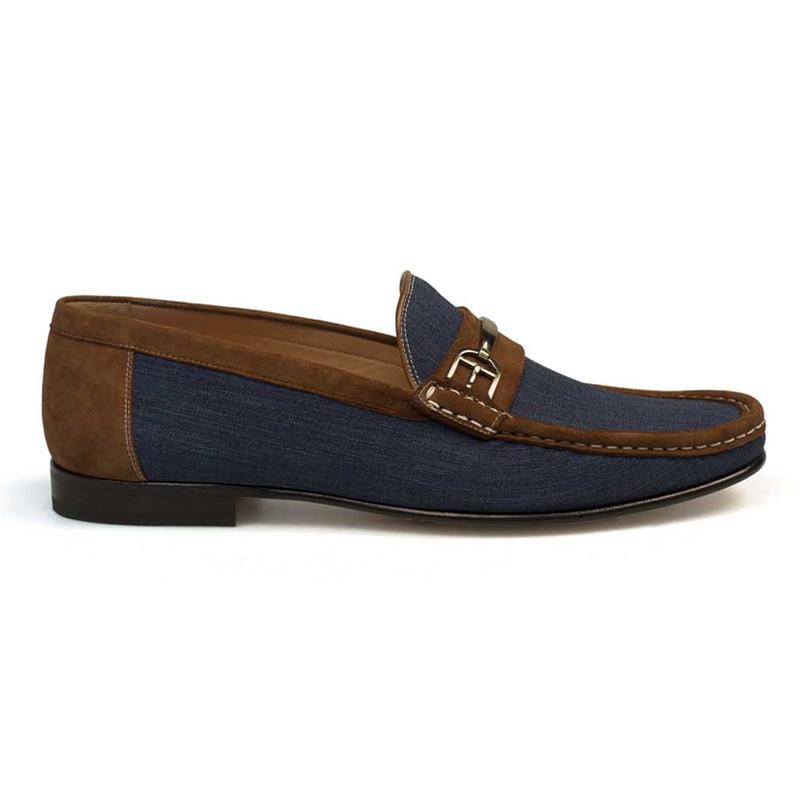 Mezlan Jason Shoes Jeans / Cognac Image
