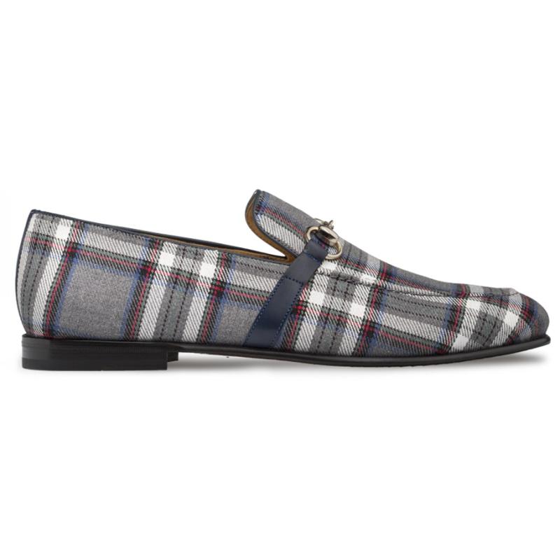 Mezlan Knighton Fabric Shoes Grey Image