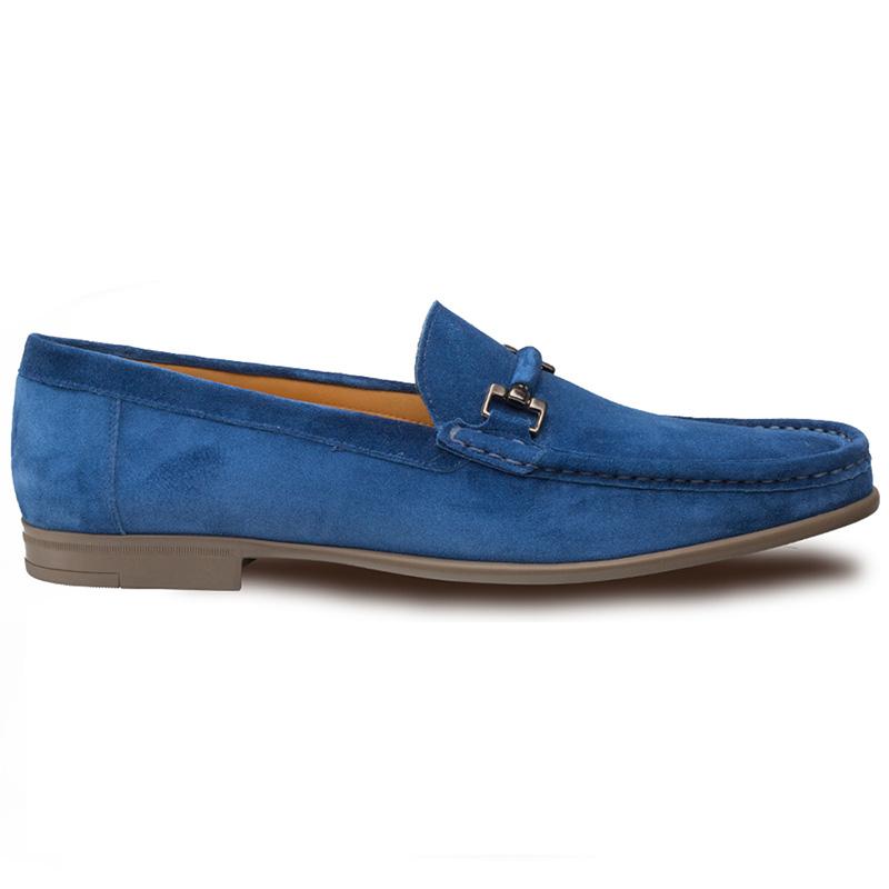 Mezlan Landa Suede Shoes Blue Image