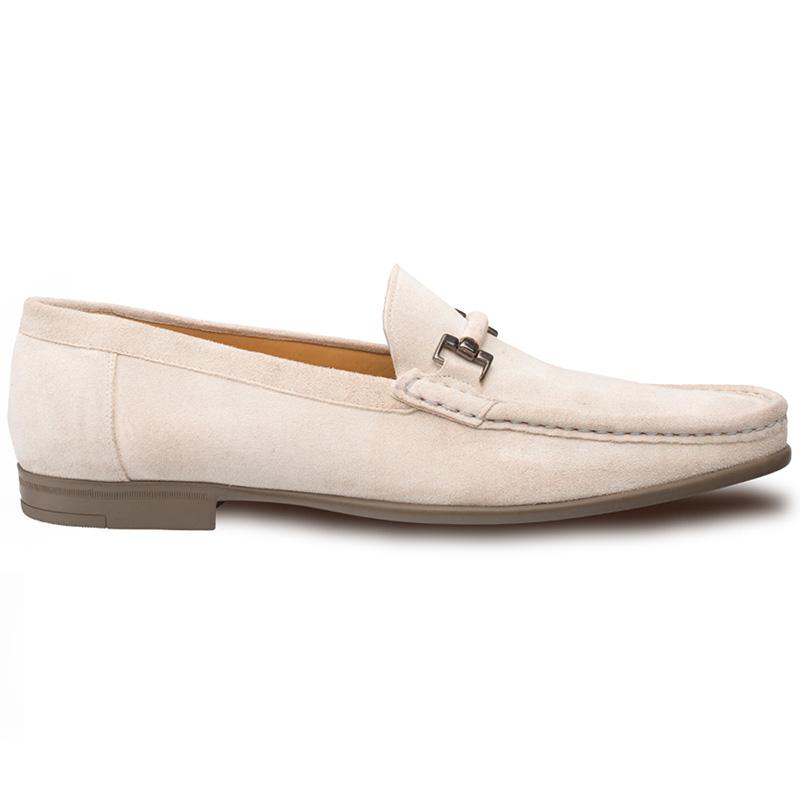 Mezlan Landa Suede Shoes Bone Image