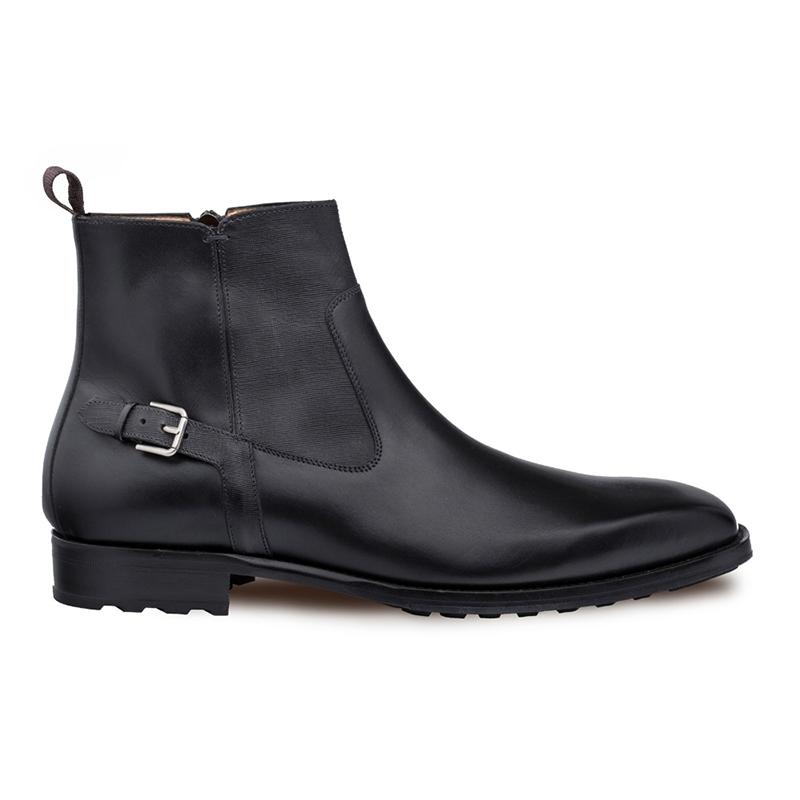 Mezlan Liege Side-Zip Boots Black Image