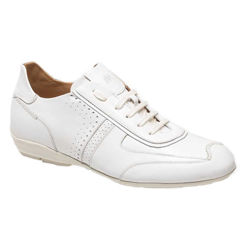 Mezlan Lozano II lace Up Sneaker Shoes White Image