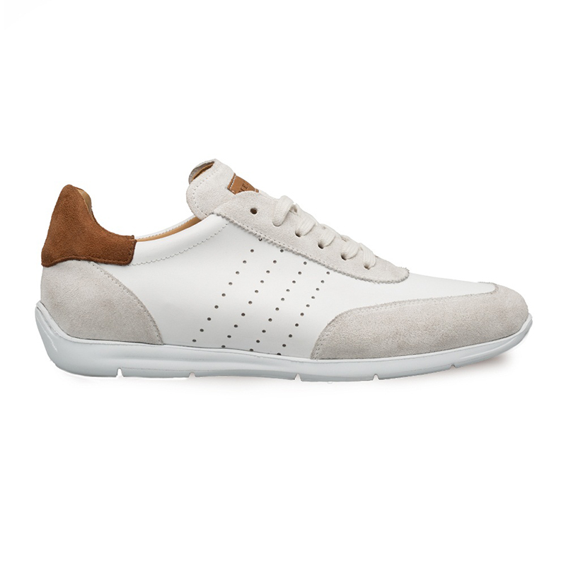 Mezlan Lukas Dress Sneakers White/Tan Image