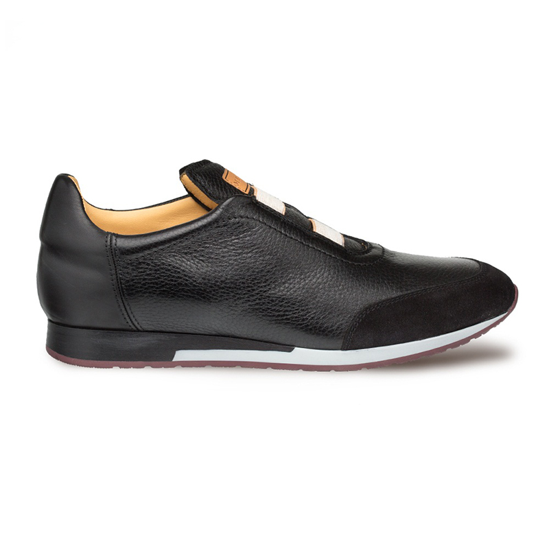Mezlan Marathon Slip On Sneakers Black Image