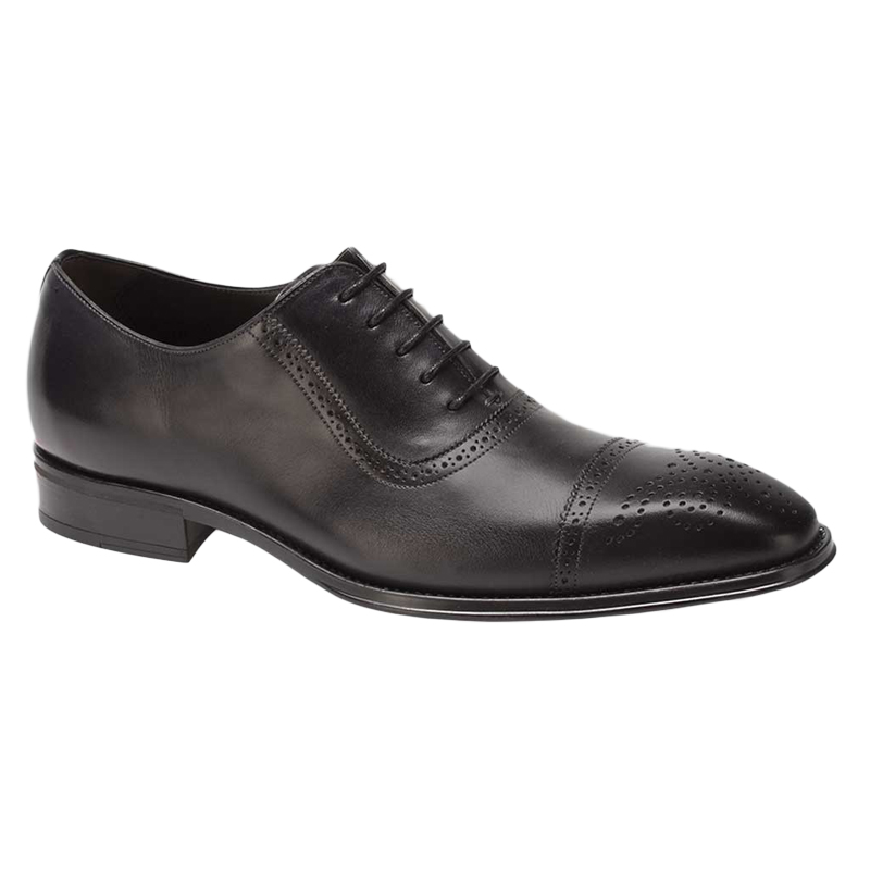 Mezlan Montalvo Calfskin Shoes Black Image
