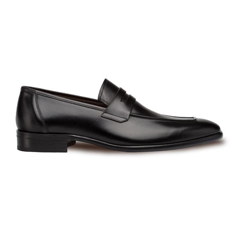 Mezlan Newport Slip On Penny Loafer Black Image