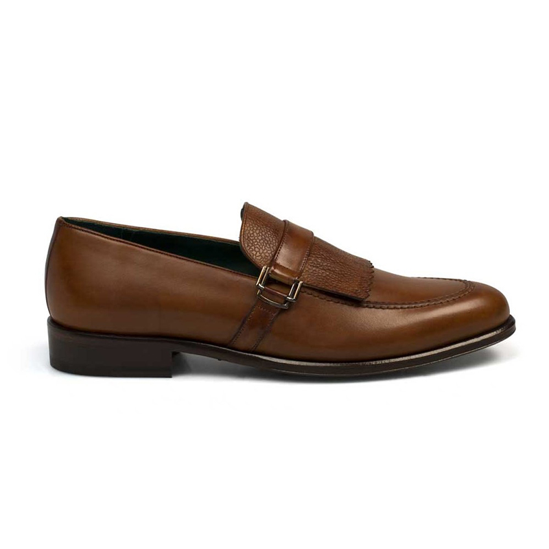 Mezlan Octavio Calfskin Shoes Tan Image