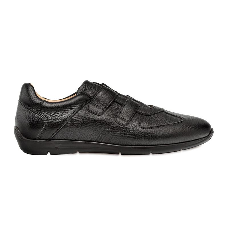 Mezlan Ojai Deerskin Sneakers Black Image