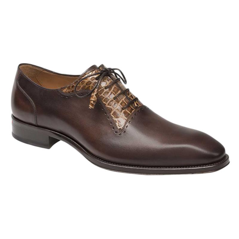 Mezlan Olimpo Oxford Shoes Brown Camel Image