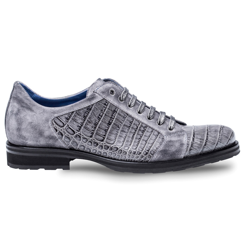 Mezlan Olsen Crocodile Shoe Grey Image